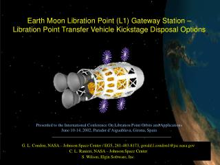 Earth Moon Libration Point (L1) Gateway Station –