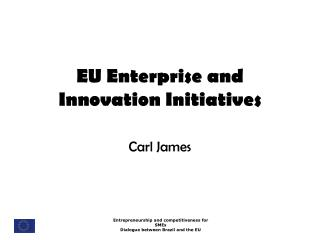 EU Enterprise and Innovation Initiatives