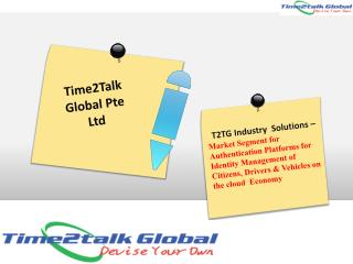 Time2Talk Global Pte Ltd