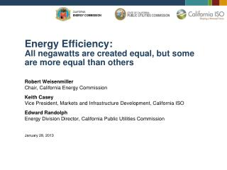 Energy Efficiency: All negawatts are created equal, but some are more equal than others