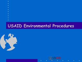 USAID Environmental Procedures