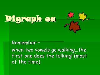 Digraph ea