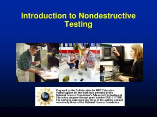 Introduction to Nondestructive Testing