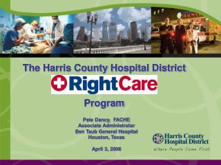 The Harris County Hospital District  Program