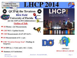 LHCP 2014