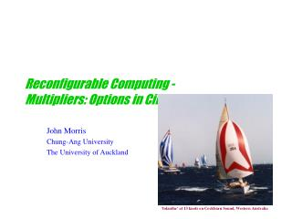 Reconfigurable Computing - Multipliers: Options in Circuit Design