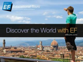Why take an educational tour?
