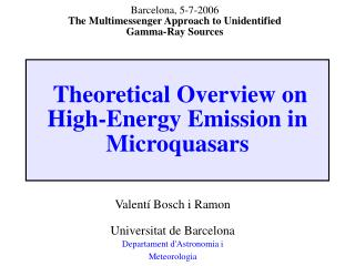 Theoretical Overview on High-Energy Emission in Microquasars