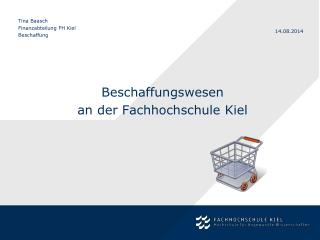 Beschaffungswesen  an der Fachhochschule Kiel