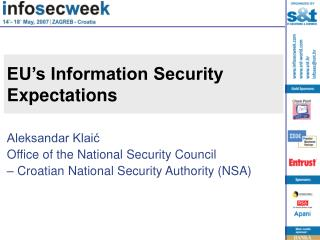 EU's Information Security Expectations