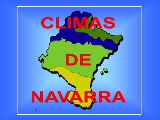CLIMAS DE NAVARRA