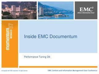 Inside EMC Documentum