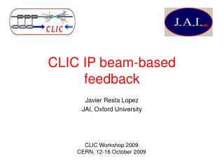 CLIC IP beam-based feedback