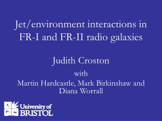 Jet/environment interactions in  FR-I and FR-II radio galaxies