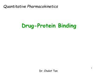 Drug-Protein Binding