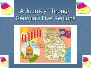 A Journey Through Georgia�s Five Regions