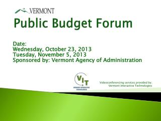 Public Budget Forum