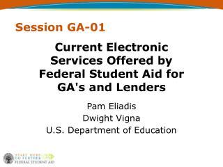Session GA-01