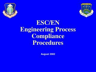 ESC/EN Engineering Process Compliance Procedures