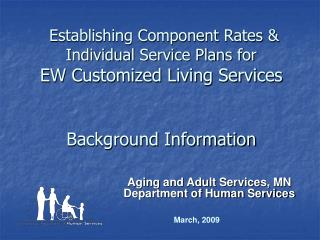 Aging and Adult Services, MN  Department of Human Services