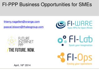 FI-PPP Business Opportunities for SMEs