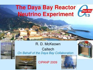 The Daya Bay Reactor Neutrino Experiment