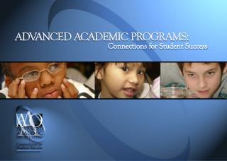 Full-Time Advanced Academic Program  Grades 3-6 Level IV
