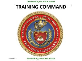 TRAINING COMMAND