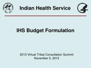 IHS Budget Formulation