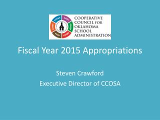 Fiscal Year 2015 Appropriations