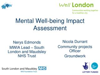 Mental Well-being Impact Assessment