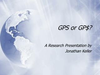GPS or GP$?