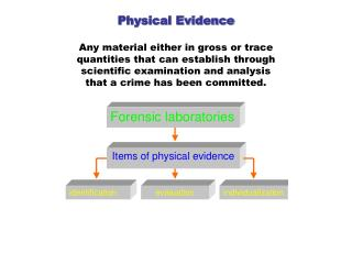 Classification of Physical Evidence
