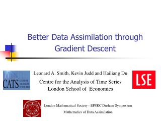 Better Data Assimilation through Gradient Descent