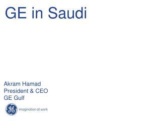 GE in Saudi
