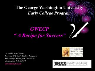 The George Washington University  Early College Program