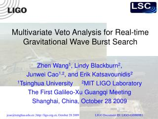 Multivariate Veto Analysis for Real-time Gravitational Wave Burst Search