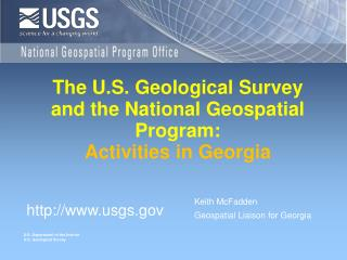 The U.S. Geological Survey and the National Geospatial Program: Activities in Georgia