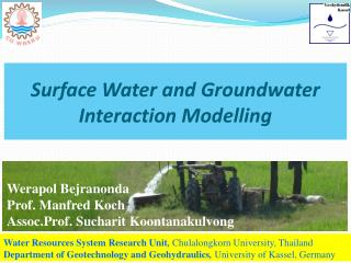Surface Water and Groundwater Interaction Modelling