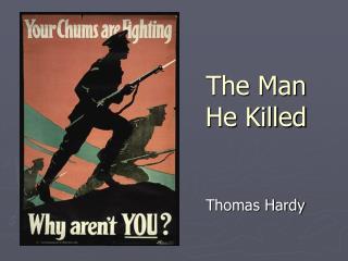 The Man He Killed