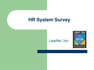HR System Survey