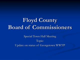 Floyd County Board of Commissioners