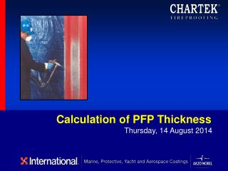 Calculation of PFP Thickness