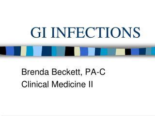 GI INFECTIONS