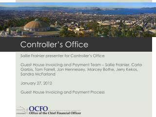 Controller's Office