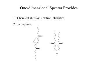 One-dimensional Spectra Provides