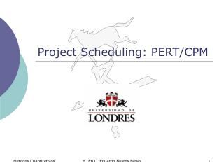 Project Scheduling: PERT