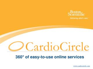 360� of easy-to-use online services