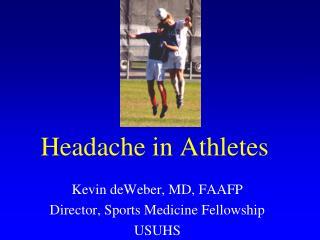 Headache in Athletes