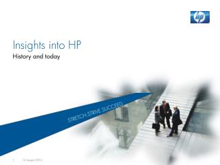 Insights into HP History and today